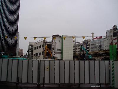 さよなら交通博物館 建物の解体状況(6)_f0030574_22251989.jpg