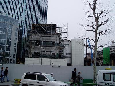 さよなら交通博物館 建物の解体状況(6)_f0030574_2225586.jpg