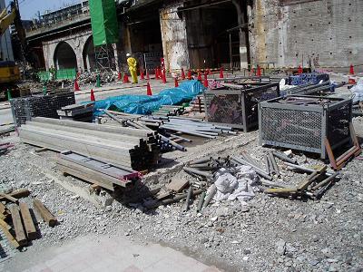 さよなら交通博物館 建物の解体状況(6)_f0030574_22284236.jpg
