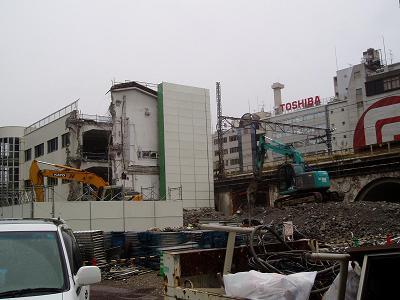 さよなら交通博物館 建物の解体状況(6)_f0030574_22301166.jpg