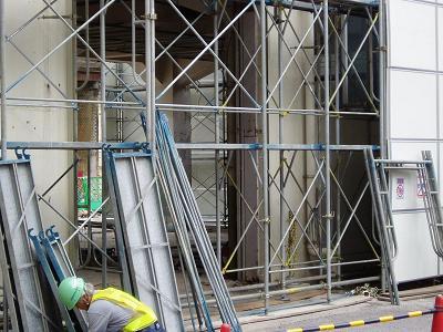さよなら交通博物館 建物の解体状況(6)_f0030574_22503729.jpg