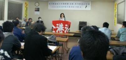 沖縄戦・基地被害の実態訴える―平和行進事前学習会で講演_f0150886_17562435.jpg
