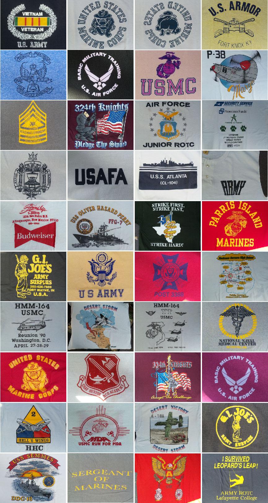 Military Print-T出します。(マグネッツ神戸店 ミリタリーTシャツ)_c0078587_215539.jpg