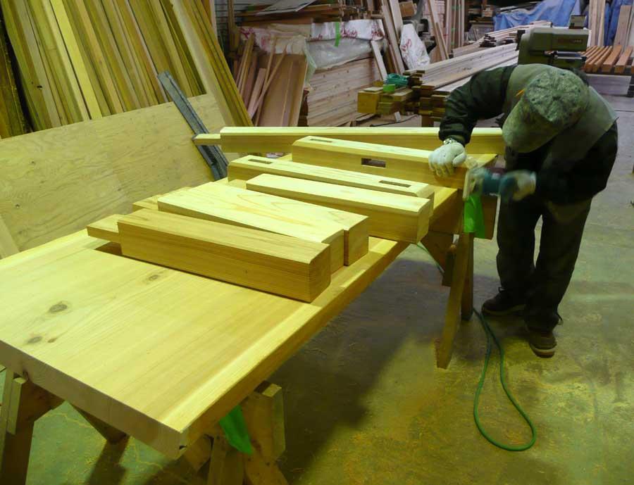 S邸「石丁の家」 テーブル製作!_f0150893_17585129.jpg