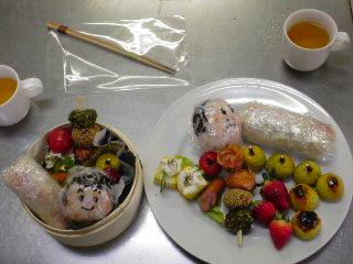 ベビゴンお料理教室・・・春のkids弁当。_f0177295_113748.jpg