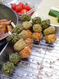 ベビゴンお料理教室・・・春のkids弁当。_f0177295_9492940.jpg