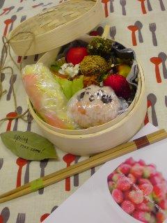 ベビゴンお料理教室・・・春のkids弁当。_f0177295_9492977.jpg