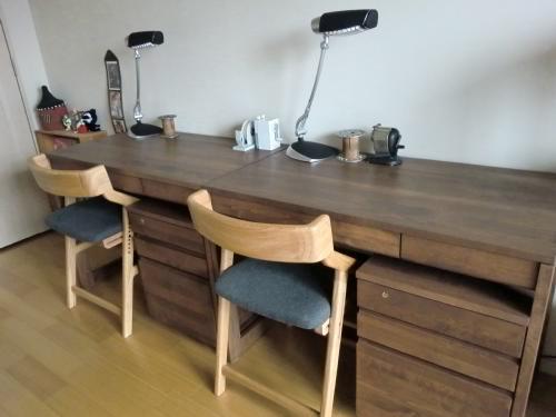 机は 堀田木工所 の机です。 : 勉強机 いらない : すべての講義