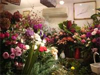 花修行 ~クリスマスのフレッシュリース~ _f0232060_19305755.jpg