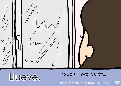 【スペイン語】小雨が降ってます/マルタさんの短いセリフ集_e0132084_23271378.jpg