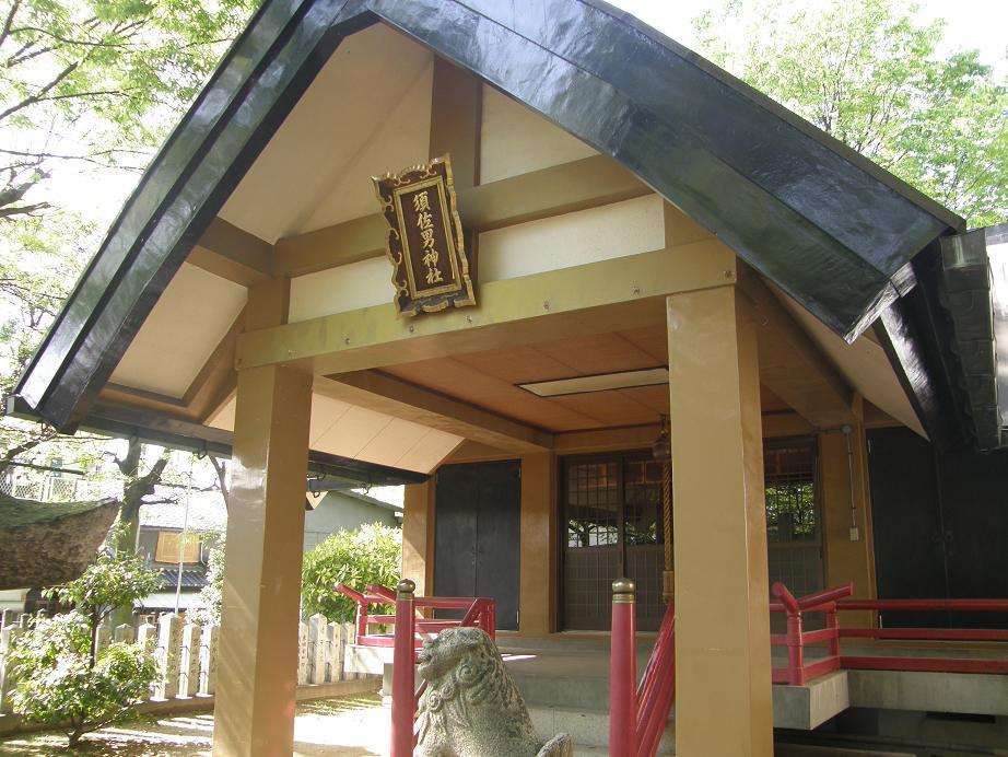神社を訊ねて その21   神崎須佐男神社          尼崎市神埼_c0118393_1173252.jpg