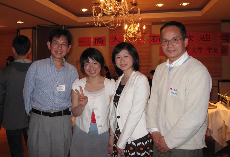 一橋大の新生歓迎会で、2人の湖南妹子と会いました_d0027795_23241325.jpg