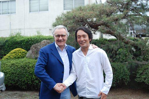 アラン・デュカス氏と『ベージュ アラン・デュカス東京』の皆さんが来牧されました_b0166530_1527094.jpg