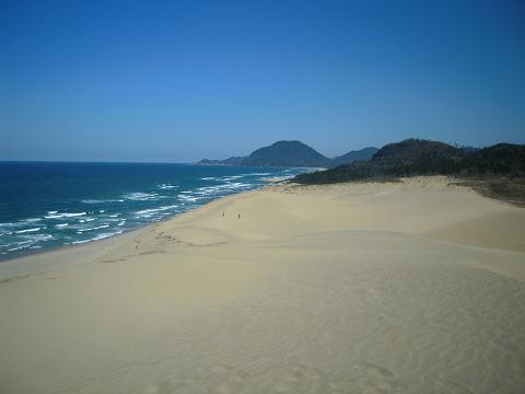旅の終わりは鳥取大砂丘 ~西国桜旅⑧_b0050651_14175846.jpg