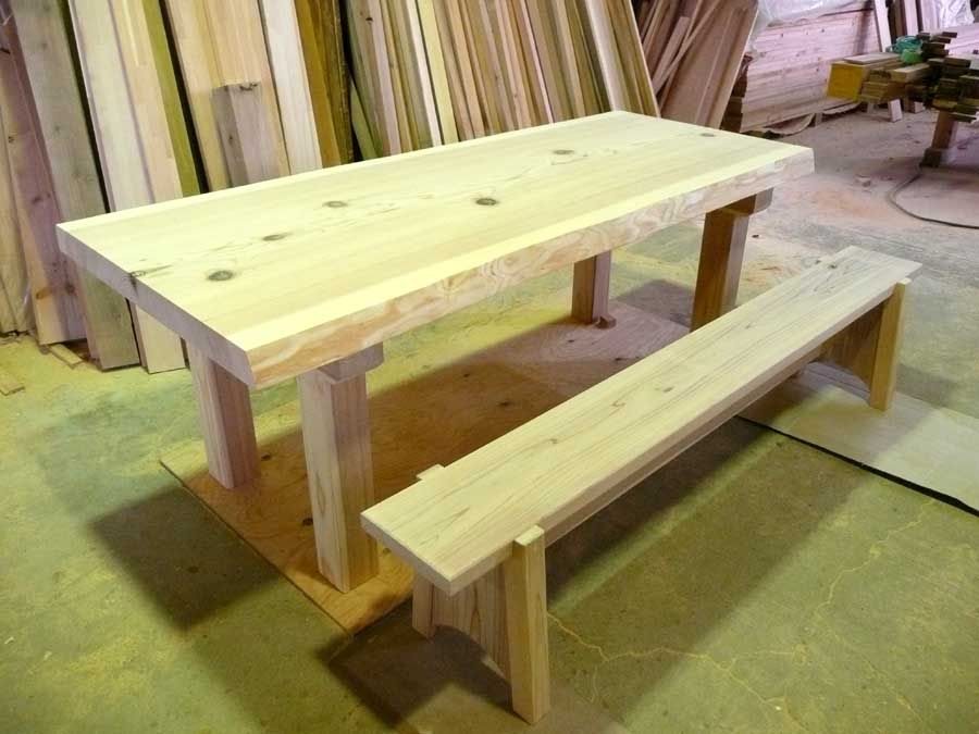 S邸「石丁の家」 テーブル製作 _f0150893_17571313.jpg