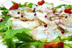 【バルサミコレシピ】 鯛のカルパッチョ_f0214716_225628.jpg