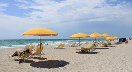 マイアミのビーチの風をおすそわけ!_c0050387_14151825.jpg