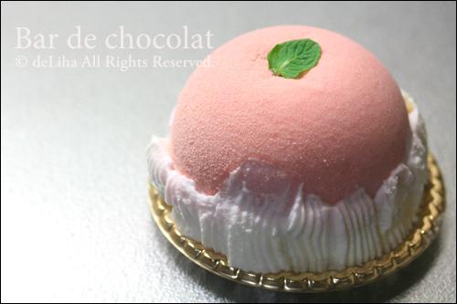 『バードゥショコラ』ケーキ【ペシェルージュ】_c0131054_20253522.jpg