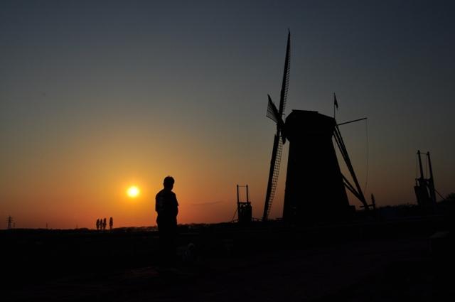 夕陽に包まれて_a0126590_23415252.jpg