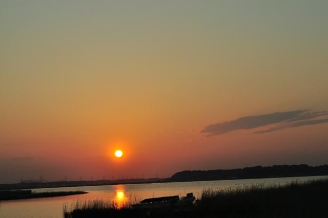 夕陽に包まれて_a0126590_23514378.jpg