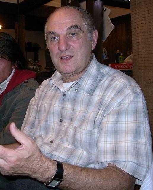 ラブキンさんを囲んで鍋会/NHKのインタビュー記録_e0105099_6193451.jpg