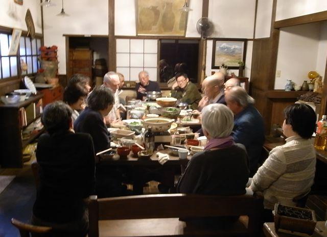 ラブキンさんを囲んで鍋会/NHKのインタビュー記録_e0105099_6195838.jpg