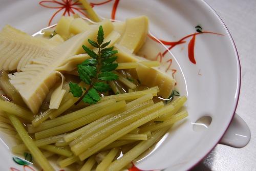 筍と蕗の煮物_c0124100_1859862.jpg