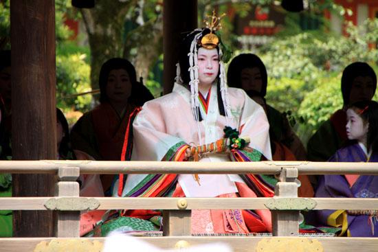 葵祭り斉王代以下 みそぎ式_e0048413_1522994.jpg