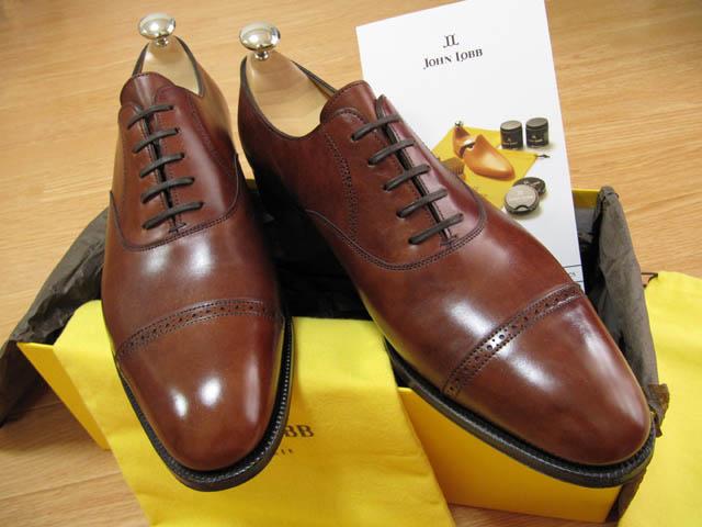 John Lobb ジョンロブの靴「Phil...