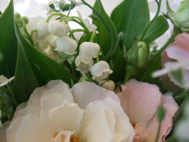 オークリーフ(バラ・エバービューティーの花束)_f0049672_1427046.jpg
