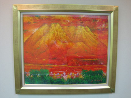 赤富士に負けず劣らない赤桜島_a0079474_14291343.jpg