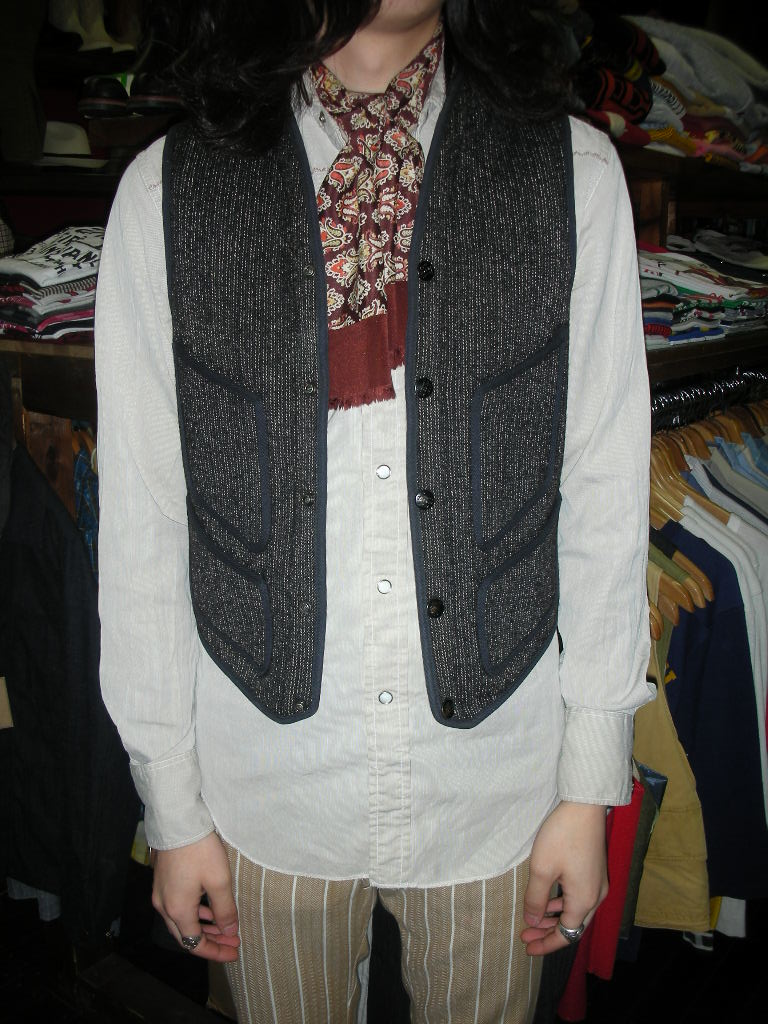 1930~1940\'S BROWN\'S BEACH VEST_c0187684_13514964.jpg