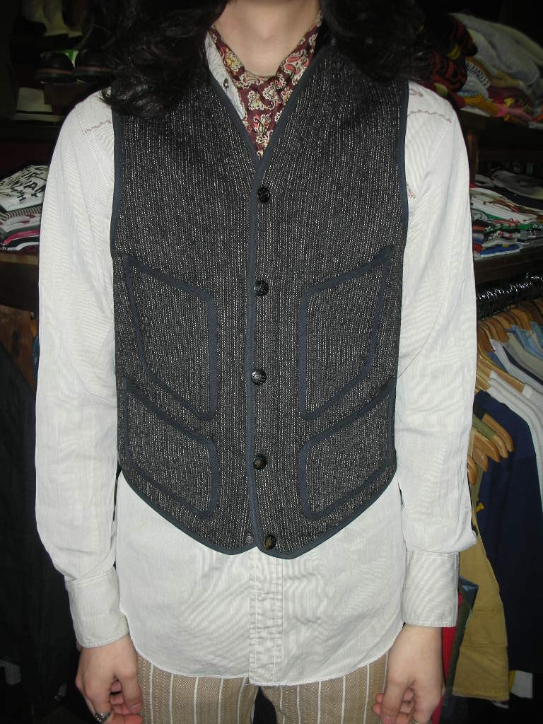 1930~1940\'S BROWN\'S BEACH VEST_c0187684_13521610.jpg
