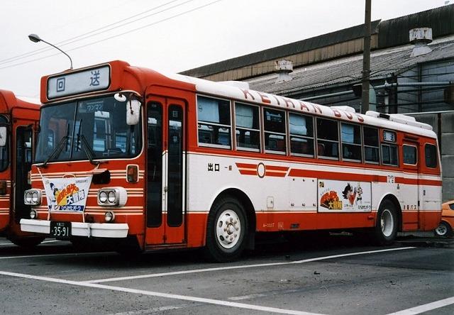 京阪バス~懐かしい車両~_a0164734_2223083.jpg