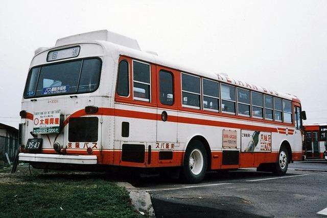 京阪バス~懐かしい車両~_a0164734_22235065.jpg