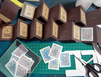 「甲虫切手型録」制作記(14)またまたまた、キリキリ。_f0152544_23313471.jpg