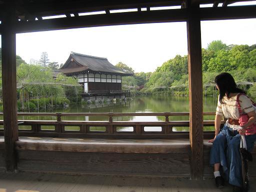 連休の京都・サツキと菖蒲のはずが、、、_f0205367_0542286.jpg