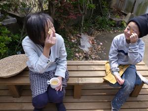 HOUSE1891-4/17内装/展示棚づくり&ひじき染め_e0142868_8451227.jpg