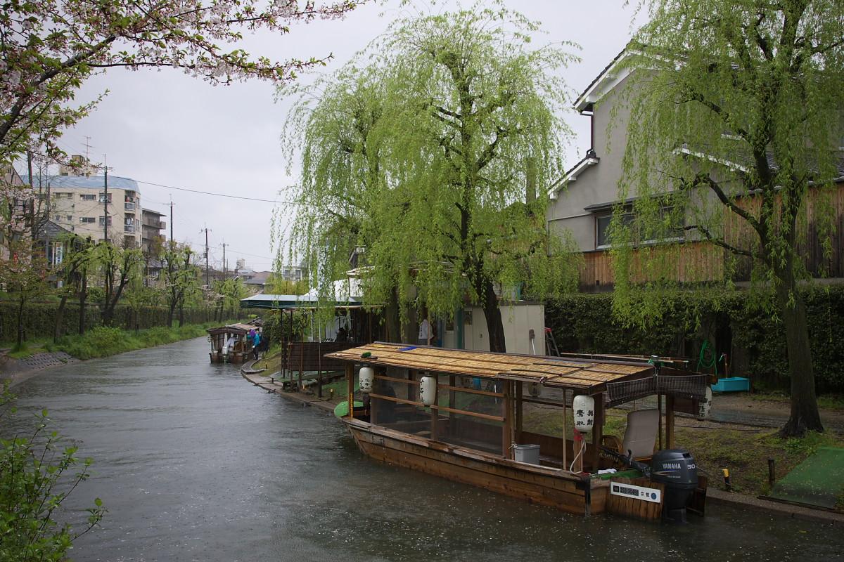 京都 雨の伏見十石舟_f0021869_19373485.jpg