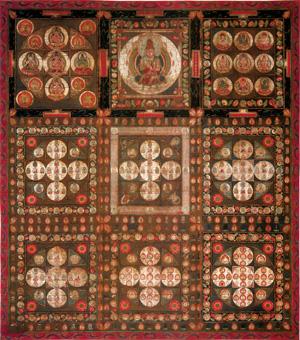 両界曼荼羅とは・・・ 両界曼荼羅に関する、素人の、勝手な考察_b0006870_18252612.jpg