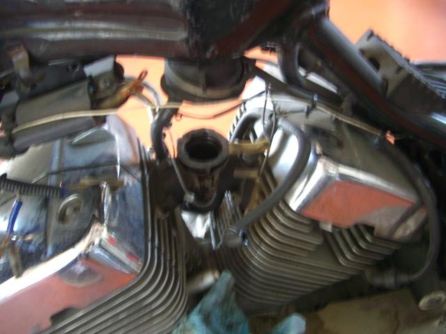 ビラーゴ修理開始_a0164918_1326584.jpg