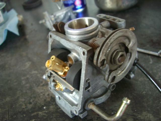 ビラーゴ修理開始_a0164918_13312910.jpg