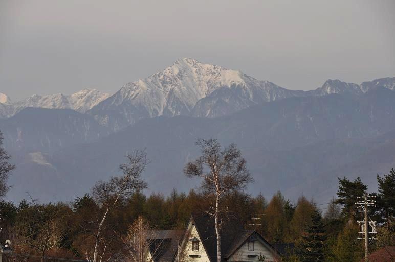 原村から見た南アルプスと八ヶ岳_e0194952_7283988.jpg