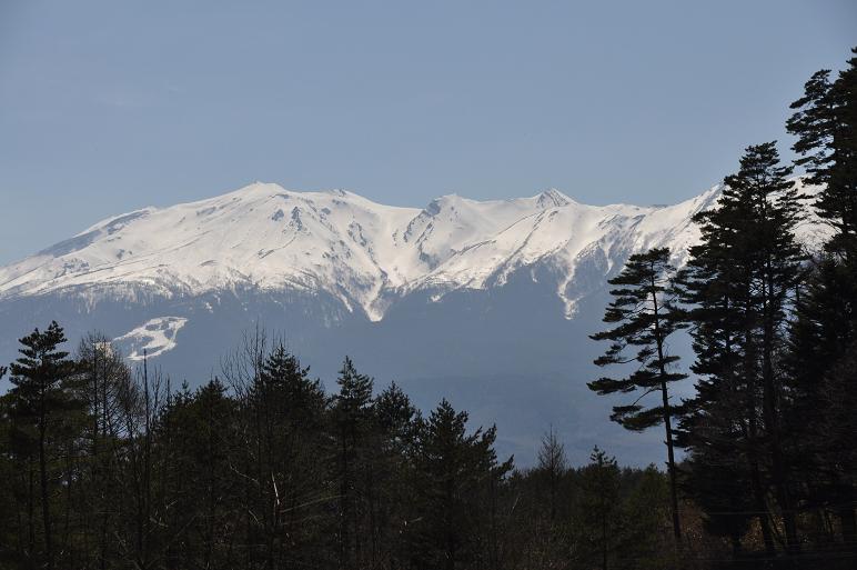 開田高原からの御岳_e0194952_7385896.jpg