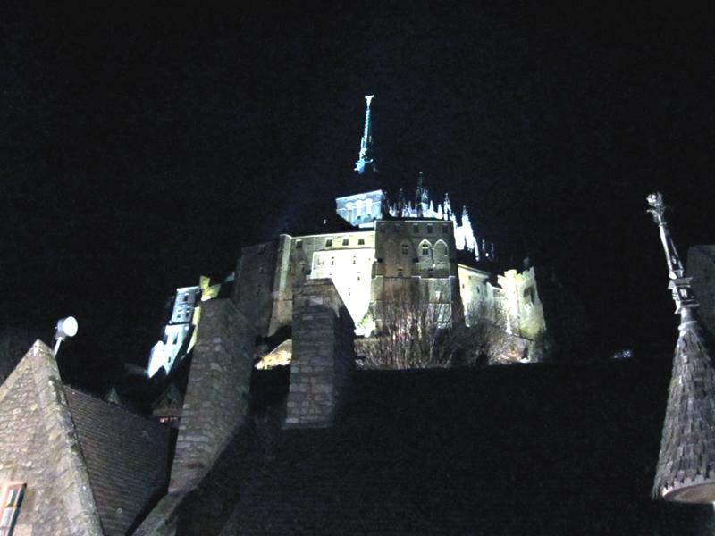 フランスへGO♪♪^^♪♪ 〜夜のモンサンミッシェル♡〜_f0119369_16421652.jpg