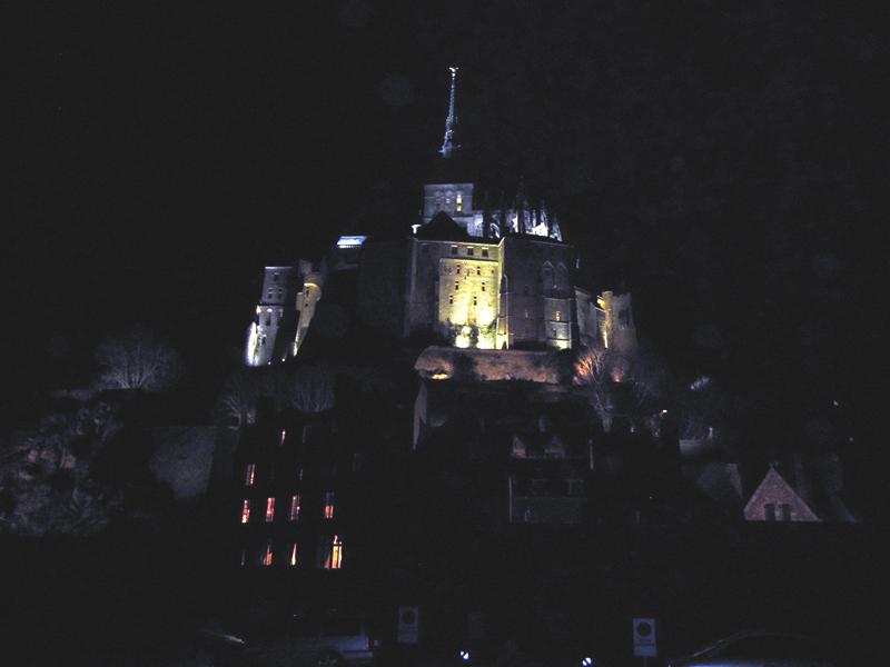 フランスへGO♪♪^^♪♪ 〜夜のモンサンミッシェル♡〜_f0119369_1644404.jpg