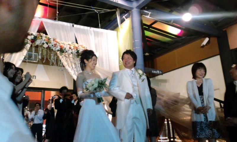 友人結婚式!_d0113681_16515168.jpg