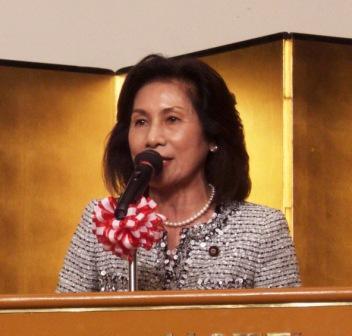 伊波洋一宜野湾市長就任7周年で激励_f0150886_17155581.jpg