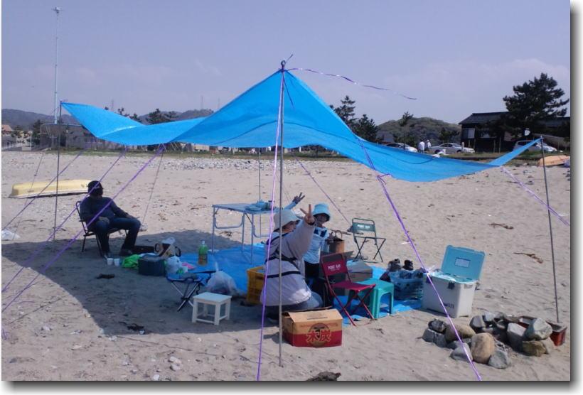 GWは香住の浜でBBQ・・・_e0014000_14165950.jpg