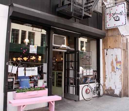 NY No1手作りピンク・レモネードのお店 Kitchenette_b0007805_23332834.jpg